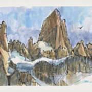 Fitz Roy, Patagonia Art Print