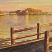 Five Islands Sunset Art Print