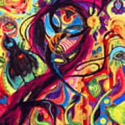 Raven Masquerade Art Print