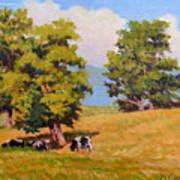 Five Oaks Art Print