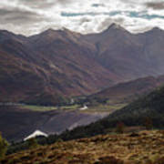 Five Sisters Of Kintail Art Print