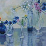 Five Vases Art Print