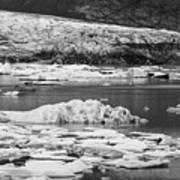 Fjallsarlon Glacier Lagoon Iceland 2348 Art Print