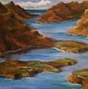 Fjords Of Norwary Art Print