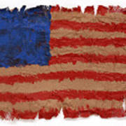 Flag 2 Art Print