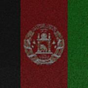 Flag Of Afghanistan Art Print
