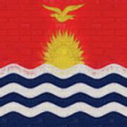 Flag Of Kiribati Wall Art Print