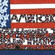 Flag One Art Print