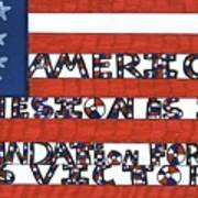Flag Two Art Print