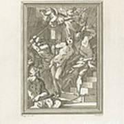 Flagellation Of A Saint Art Print