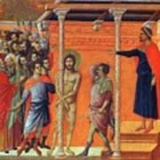 Flagellation Of Christ 1311 Art Print