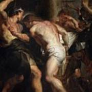 Flagellation Of Christ 2 Peter Paul Rubens Art Print
