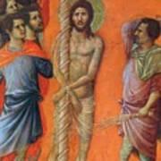 Flagellation Of Christ Fragment 1311 Art Print