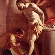 Flagellation Of Christ Art Print by Pietro Bardellini