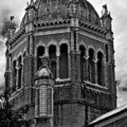 Flagler Memorial Presbyterian Church 3  B-w Art Print