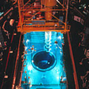 Flamanville Nuclear Power Plant Art Print