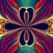 Flame Blossom Art Print