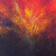 Flame Within Art Print