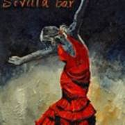 Flamenco 18 Art Print