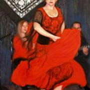 Flamenco 8 Art Print