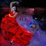 Flamenco 88 Art Print