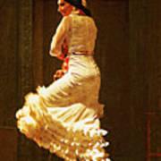 Flamenco Dancer #20 - The White Dress Art Print