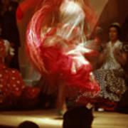 Flamenco Dancer In Seville Art Print