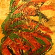 Flamenco Flame - Tile Art Print