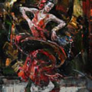 Flamenco II Art Print
