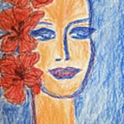 Flamenco Nights - Alicia Art Print