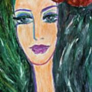 Flamenco Nights - Madalena Art Print