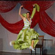 Flamenco Show Nr 2 Art Print