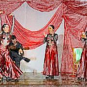 Flamenco Show Nr 4 Art Print