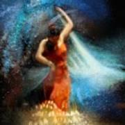 Flamencoscape 05 Art Print