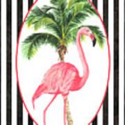 Flamingo Amore 7 Art Print