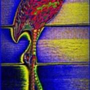 Flamingo IIi Art Print