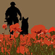 Flanders Fields 11 Art Print