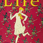 Flapper Cover, 1926 Art Print
