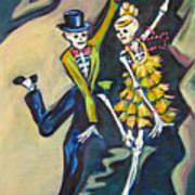 Flappers Art Print