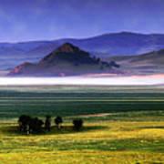 Flat Lands Of Kunming Art Print