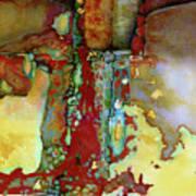 Flatbush Subway Q Train#2 Art Print