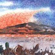 Flathead Lake Montana Art Print