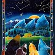 Flatirons Stargazing Print by Harriet Peck Taylor