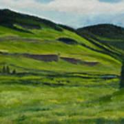 Flattops Wilderness Art Print