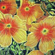 Flax Art Print