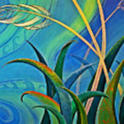 Flax Harakeke By Reina Cottier Art Print