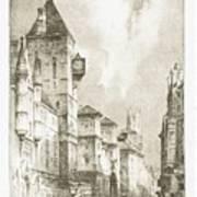 Fleet  Street Art Print