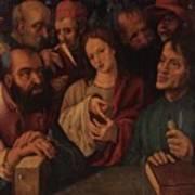Flemish Artist 16 17th Century. Art Print