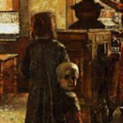 Flemish Tavern Art Print