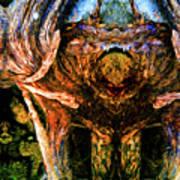 Flesh Speaks Wood Listens Art Print